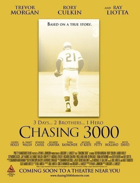 """Poster for the movie """"Chasing 3000"""""""