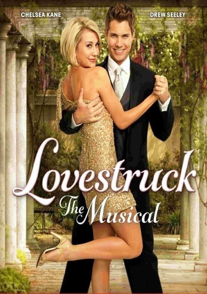 "Poster for the movie ""Lovestruck: The Musical"""
