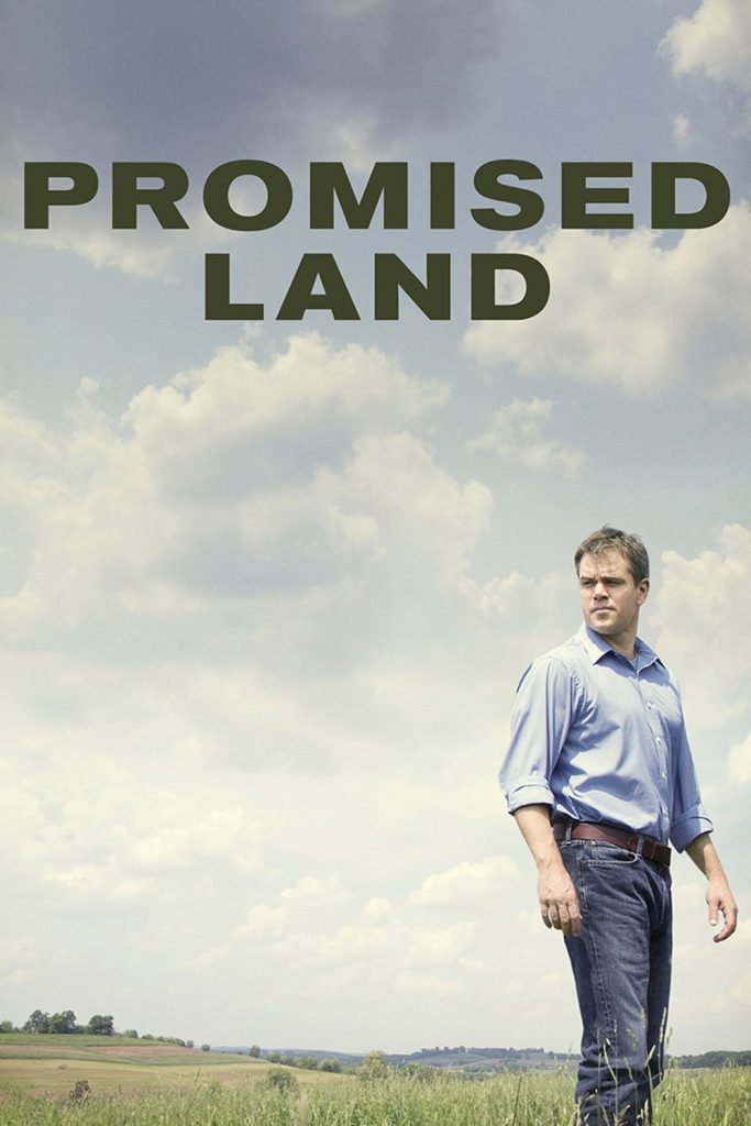 "Poster for the movie ""Promised Land"""