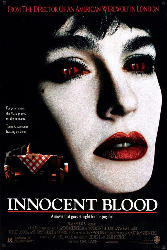 "Poster for the movie ""Innocent Blood"""