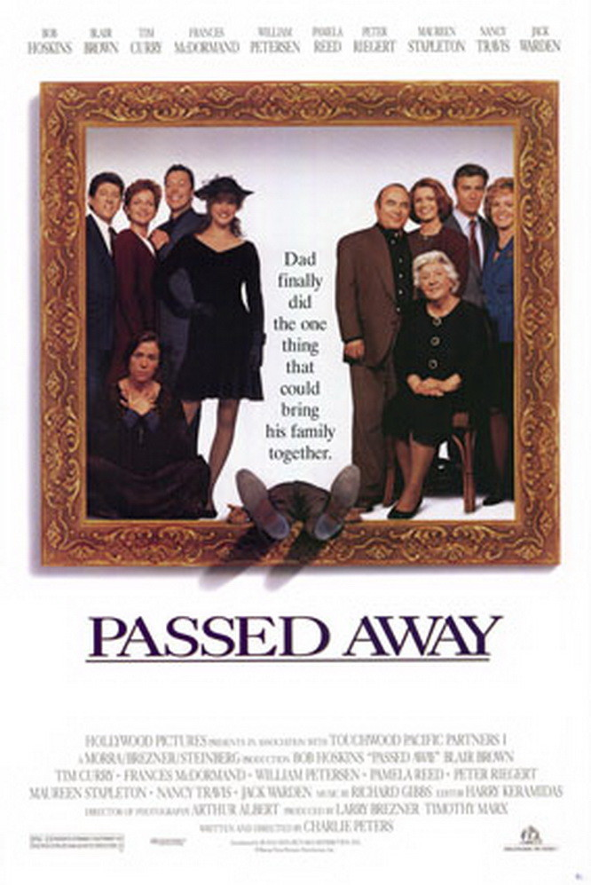 "Poster for the movie ""Passed Away"""
